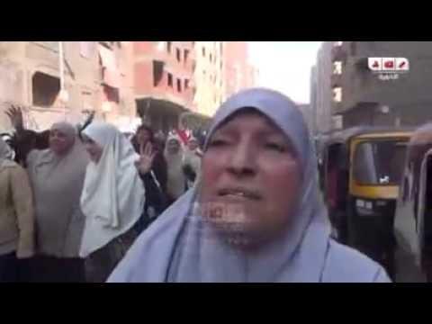 شاهد بالفيديو عمة شهيد تدعي على السيسي