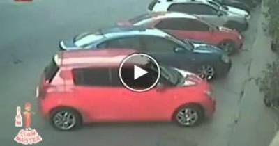 صيني يقوم بمهاجمة لصين بعد سرقتها شنطة سيدة