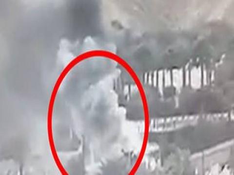 بالفيديو،، انفراد، لحظة انفجار أتوبيس طابا السياحى