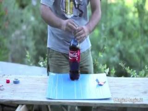 فيديو مختلف لتاثير المنتوس على الكولا