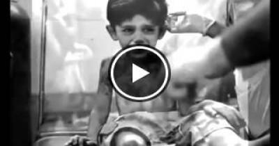 طفل سوري قبل ان يموت يتوعدنا بانه سيخبر الله بكل شئ