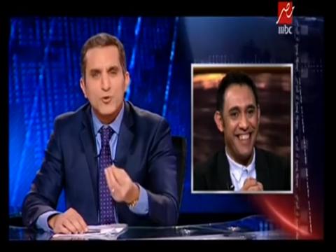 باسم يوسف لعمرو مصطفى: هتفضل طول عمرك عمرو