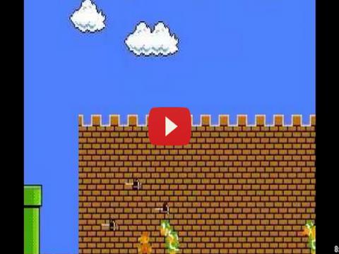 فيديو انهاء لعبه سوبر ماريو فى 9 دقائق
