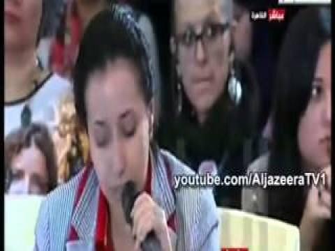 بالفيديو صحفية تحرج القومي لحقوق الانسان على الهواء