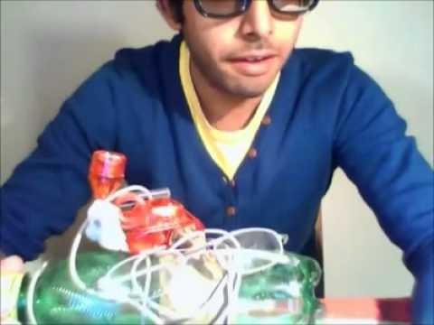 بالفيديو.. شاب مصري يخترع جهاز لاكتشاف البيضان